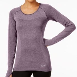 Nike Dri-FIT knit long sleeve running top